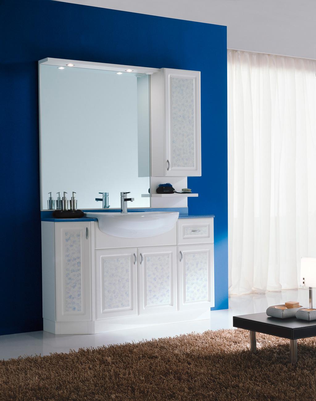 Mobili bagno semincasso finest arredo bagno cleo mobile for Larghezza mobile bagno