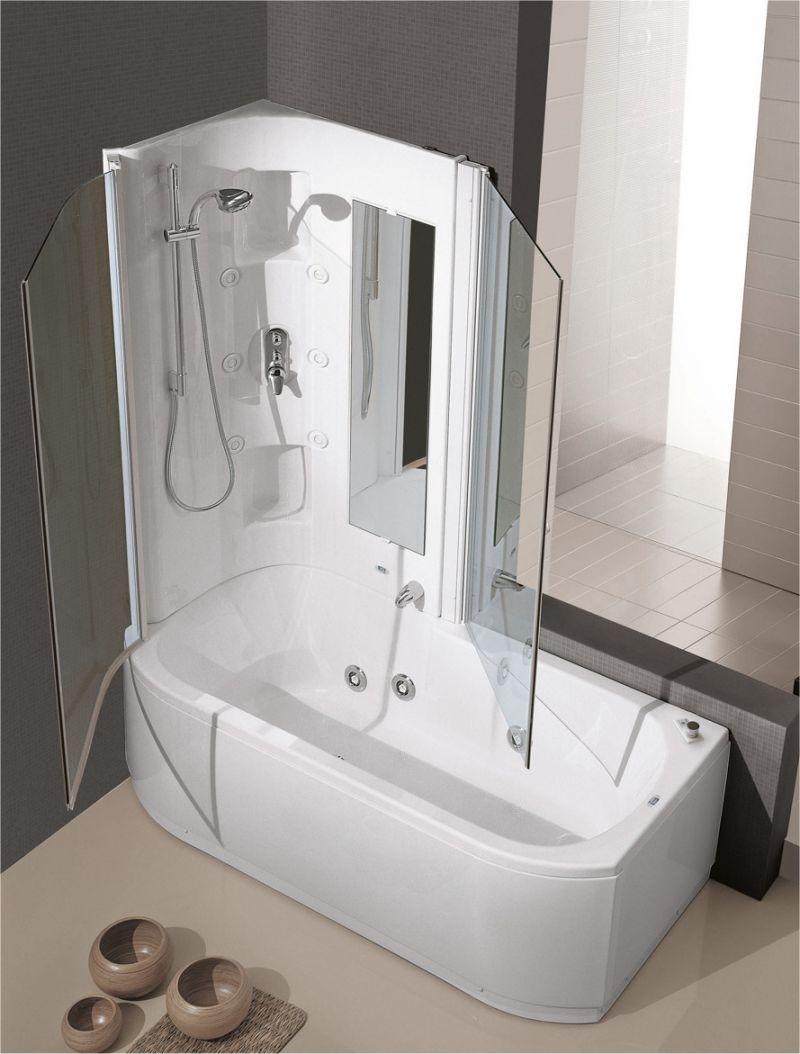 Free vasche idro combinata doccia uc with vasca da bagno e doccia - Vasca da bagno piccola prezzi ...